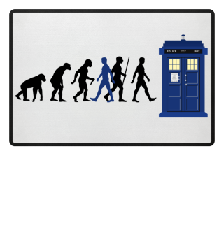 Evolution Of Humans - Police Box IV