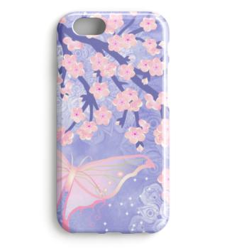 ★ Cherry Blossoms Butterfly Mandala 2b