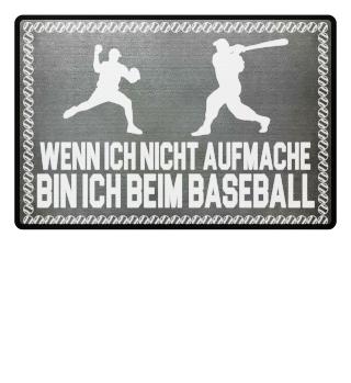 ...bin ich beim Baseball - Geschenk