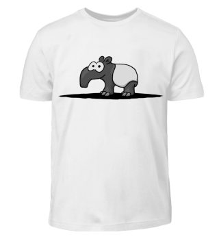 cute Tapir funny comic animal gift