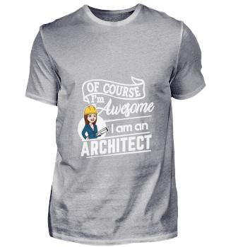 D001-0410A Female Architect Architektin