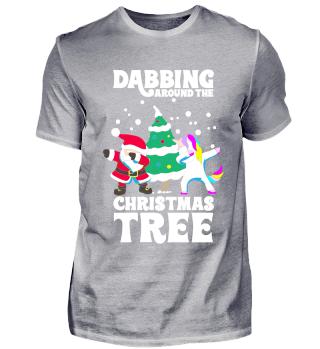 Dabbing Einhorn Dab Weinachten Geschenk