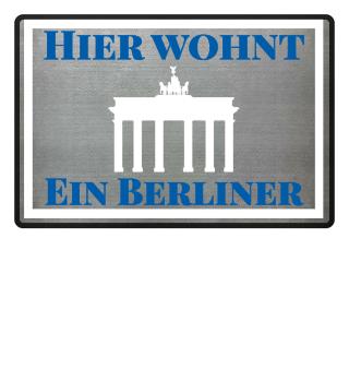 Bestseller: Hier wohnt ein Berliner!!!