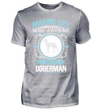 Dobermann Hund Züchter Besitzer Cool Lustig Witzig Schön Spruch Geschenk