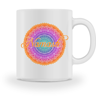 Ethno Folklore Lotus Mandala Namasté 3a