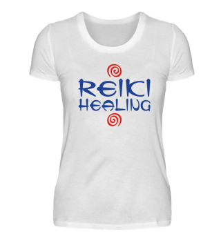 ★ Reiki Healing Energy Spirals red blue