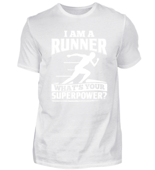 Running Runner Shirt I Am A