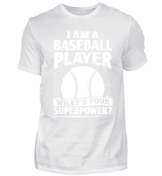 Funny Baseball Shirt I Am A