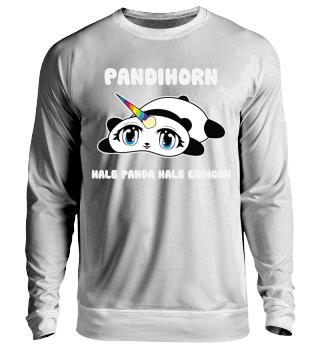 Pandihorn, halb Panda halb Einhorn