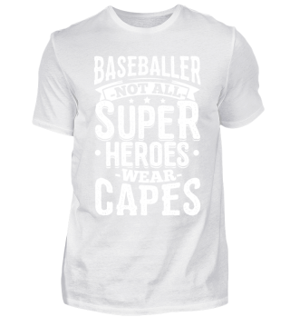 Funny Baseball Shirt Not All Superheroes