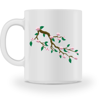 ♥ Cherry Blossom - Abstract Branch I