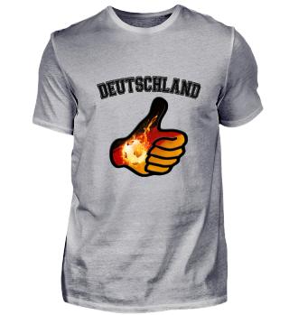 WM Shirt Fußball Deutschland Geschenk