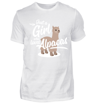 Cute Alpaca Shirt Girl Alpaca Love Gift