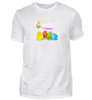 Sweet Happy Easter Eggs Gift T-Shirt