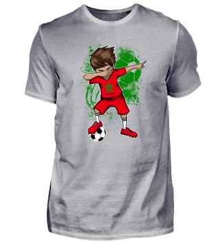 Morocco Soccer Boy Dab