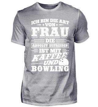 Lustiges Bowling Shirt Ich Bin Die Art