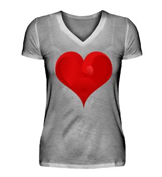 Limitiert - red Heart Emotions - Shirt