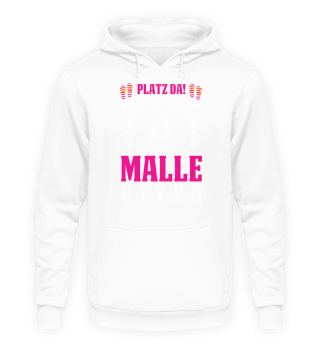 Trinkspruch Party Shirt · Malle Diven