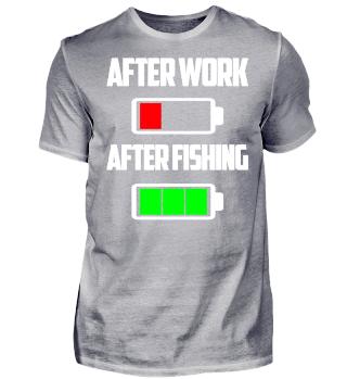 Geschenk After Work After Fishing