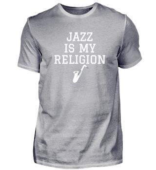 Jazz Religion TSH unisex