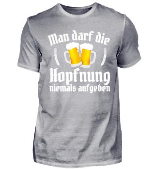 Cooler Bier Hopfen Spruch Bierfest Witz
