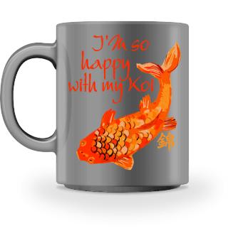 ♥ KOI Fish Nishikigoi - I Am So Happy