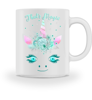 ♥ Cute Unicorn Flowers Magic Eyes 1