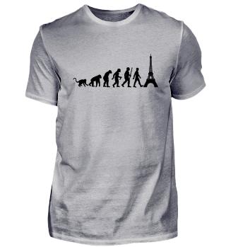 Evolution Of Humans - Eiffel Tower I