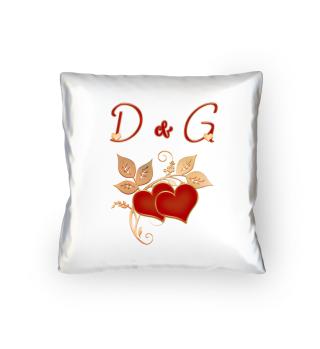 Paarkissen D und G