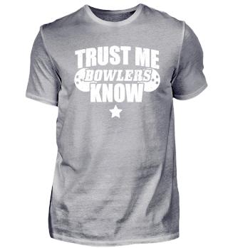 Funny Bowling Shirt Trust Me