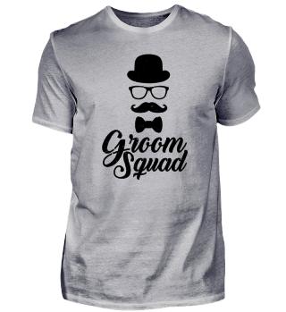 Groom Squad - Gentleman - Nerd - Geschen
