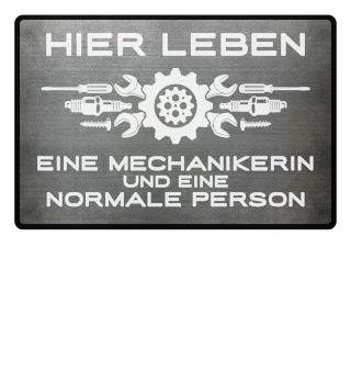 ...eine Mechanikerin und eine normale Person - Geschenk