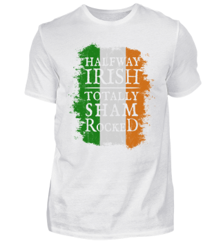 Halfway Irish Totally Shamrocked Gift