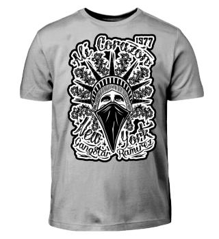 Kinder Kurzarm T-Shirt Mi Corazon BW Ramirez