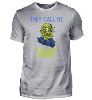 Nerd hipster death Halloween zombie dead