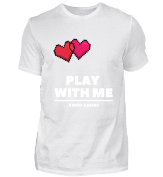 Video Gamer Valentinstag T-Shirt Hoodie