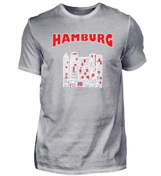 Skizze Zeichnung - Hamburg