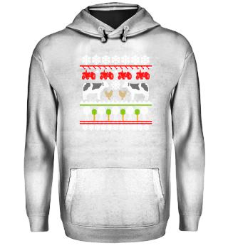 Kuh Rinder Landwirt · Ugly Christmas