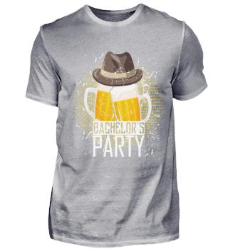 Bachelors Cheer Beers Geschenk-T-Shirt