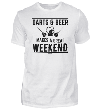 Beer darts player weekend
