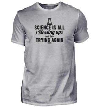 Science nerd teacher research laboratory