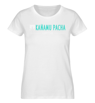 KANAMU PACHA ORGANIC SHIRT BLACK WOMAN