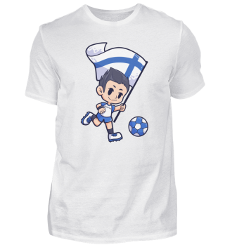 Finland Football Sports Boy Flag