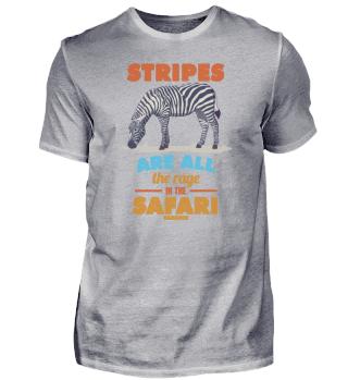Stripes Are All The Rage in The Safari