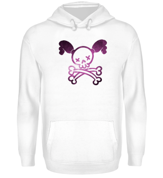 Girl Power - Skull Braids Bones Pirate