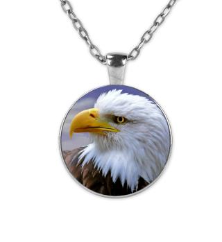 Weißkopfseeadler Halskette