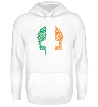 Skull Clover - Irish Flag - Gift - Shirt
