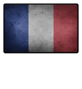 ♥ World Flag grungy - France