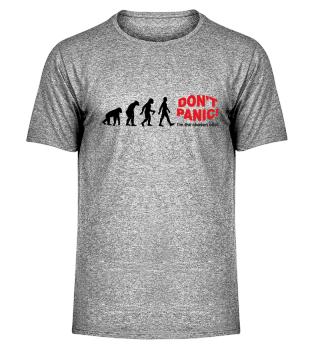 Evolution Of Humans - DON'T PANIC I
