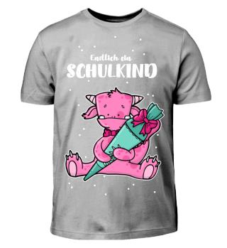 smietz T-Shirt - Eddie Schule rosa